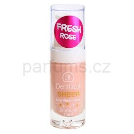 Dermacol Face Illuminator zkrášlující fluid odstín Fresh Rose 15 ml
