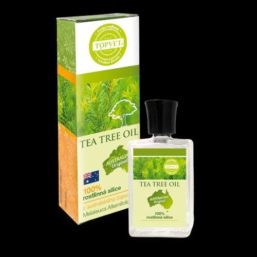 Topvet Tea Tree Oil 100% silice (Tea Tree Oil) 10 ml