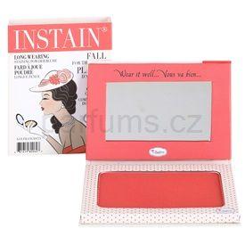 theBalm Instain pudrová tvářenka pro dlouhotrvající efekt odstín Swiss Dot (Long Wearing Staining Powder Blush) 6,5 g