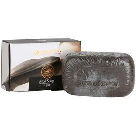 Sea of Spa Essential Dead Sea Treatment tuhé mýdlo s černým bahnem (Mud Soap) 125 g
