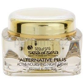 Sea of Spa Alternative Plus noční aktivní výživný krém pro normální až suchou pleť (Active Nourishing Night Cream For Normal To Dry Skin Vitamin A & E) 50 ml