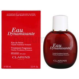 Clarins Eau Dynamisante tělový sprej unisex 100 ml plnitelný