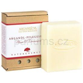 Argand'Or Care arganové mýdlo s vůní máty a citronové trávy 110 ml