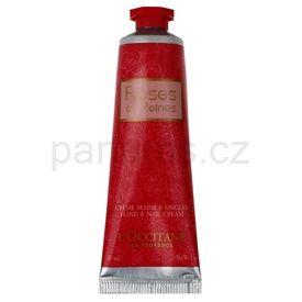 L'Occitane Rose krém na ruce a nehty růže (Hand & Nail Cream) 30 ml