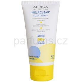 Auriga Melaclear opalovací krém SPF 50+ (Tinted Dermatological Sunscreen) 50 ml
