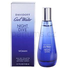 Davidoff Cool Water Night Dive toaletní voda pro ženy 80 ml