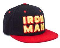 Addict Iron Man Character Special kšiltovka