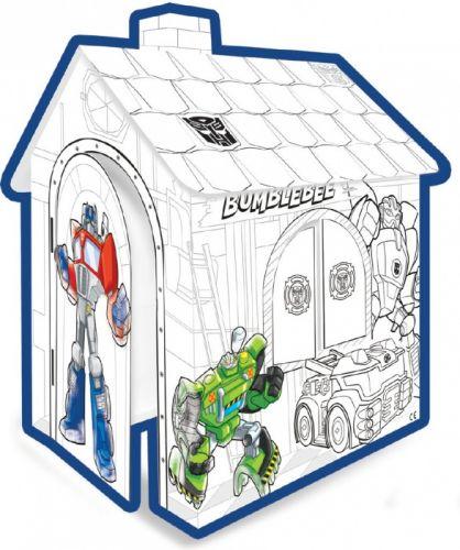 Mochtoys papírový domeček vymalovávací Transformers cena od 389 Kč