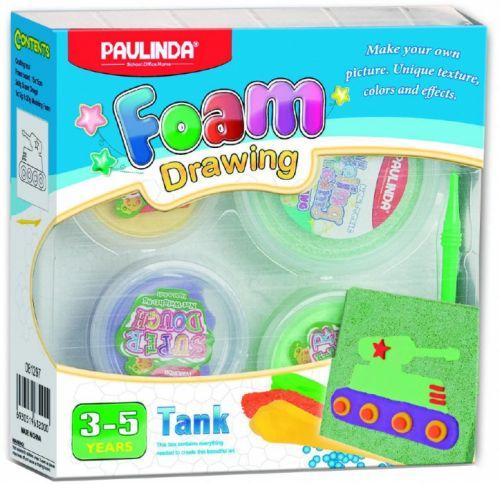 Alltoys Foam Drawing kreativní sada Tank cena od 42 Kč