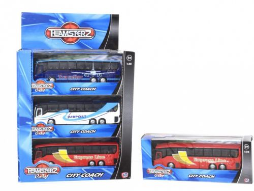 Alltoys Teamsterz městský autobus cena od 169 Kč