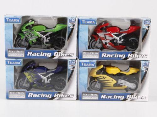 Alltoys Závodní motorka 1:18 cena od 73 Kč