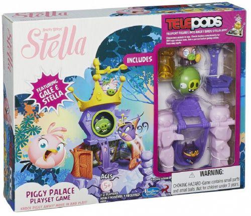 Hasbro Angry Birds Stella hrací sada palác cena od 491 Kč
