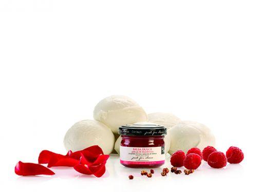 Can Bech MINI Confiture z malin s okvětními lístky růží a sečuánským pepřem 70 g cena od 68 Kč
