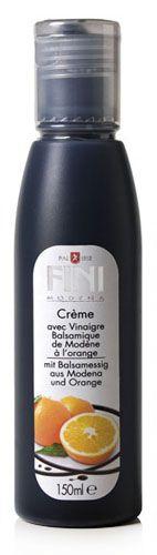 ACETAIA FINI Krém s Balsamico di Modena s příchutí pomeranče 150 ml