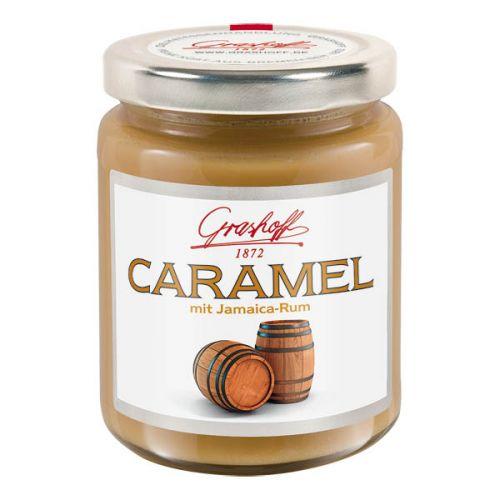 B.Grashoff Karamelový krém s 73% jamajským rumem 250 g
