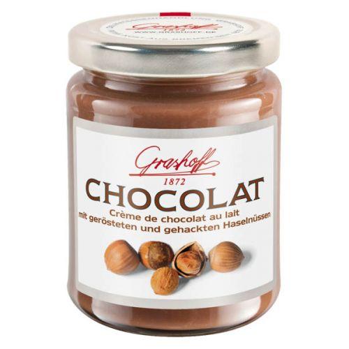 B.Grashoff Mléčný čokoládový krém s lískovými oříšky 250 g cena od 130 Kč