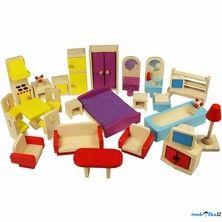 Bigjigs Toys Nábytek pro panenky
