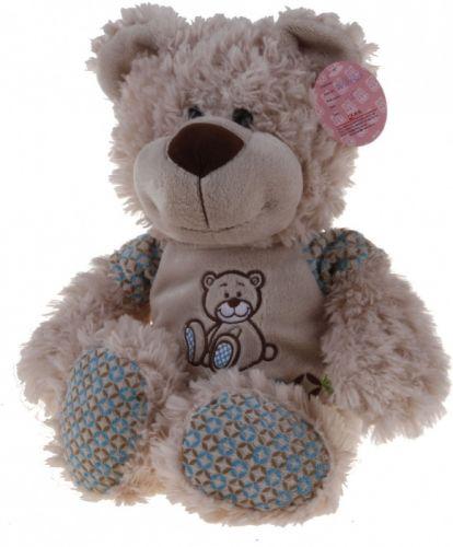 Alltoys Sedící medvídek v tričku cena od 241 Kč