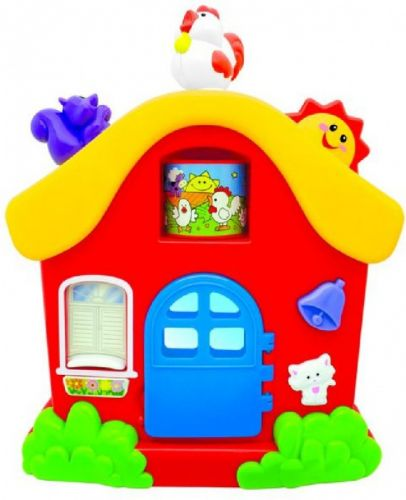 Alltoys Malý hrací domeček cena od 394 Kč