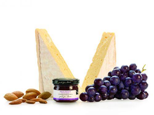 Can Bech MINI Confiture z červených hroznů s mandlemi z Mallorky 70 g