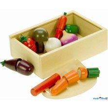 Bigjigs Toys Krájení Zelenina v bedýnce