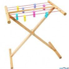 Bigjigs Toys Dřevěný sušák na prádlo cena od 629 Kč