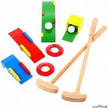 Bigjigs Toys Dřevěná golfová sada