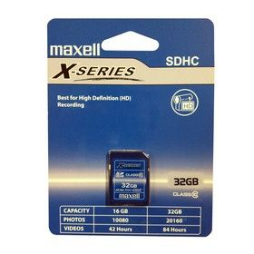 Maxell SDHC CL10 32 GB