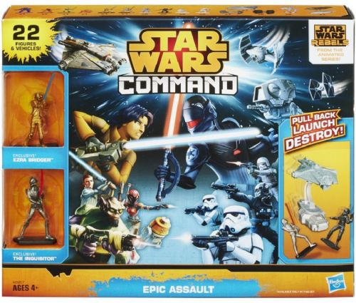Hasbro Star Wars Command mega vesmírná stavba cena od 628 Kč