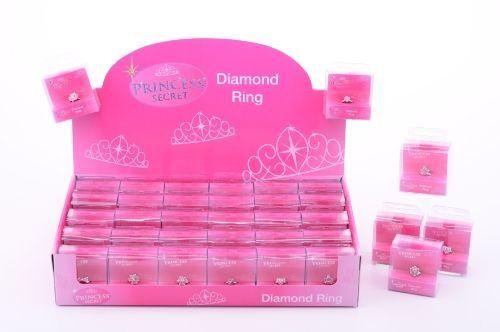 Johntoys Prstýnek s diamantem v krabičce cena od 0 Kč