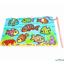 Bigjigs Toys Magnetický rybolov Vkládačka tropické rybky cena od 179 Kč