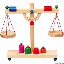 Legler Váha dřevěná páková se závažím cena od 419 Kč