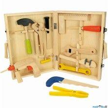 Bigjigs Toys Kufřík s dřevěným nářadím KIDS