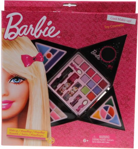 Alltoys Kosmetický set Barbie tvar hvězda cena od 0 Kč
