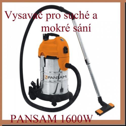 PANSAM Vysavač pro mokré a suché sání cena od 3480 Kč