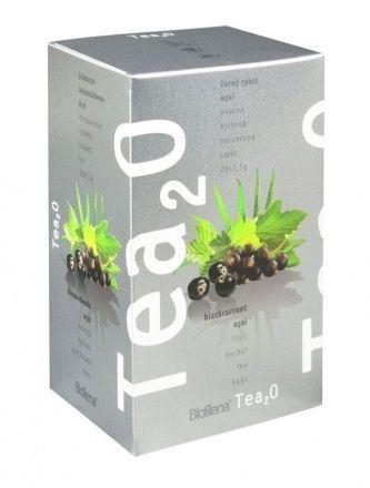 Tea 2O Černý rybíz + Acai n.s. 20 x 2,5 g