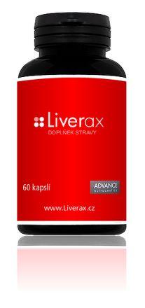Liverax detoxikace jater 60 kapslí