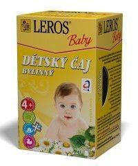 LEROS BABY BIO Dětský čaj bylinný 20x2 g