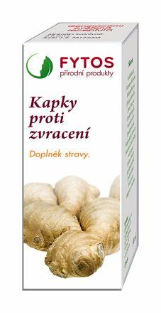 FYTOS Kapky při zvracení 20 ml cena od 92 Kč