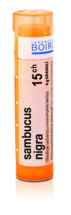 Sambucus Nigra CH15 granule 4 g cena od 76 Kč