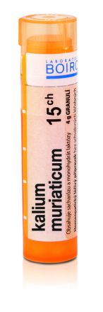 Kalium Muriaticum CH15 granule 4 g cena od 77 Kč