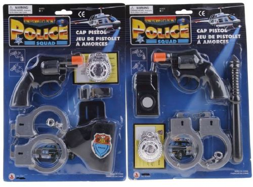 Alltoys Policejní set s doplňky cena od 70 Kč
