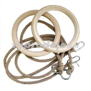 Spartan Kruh dřevěný