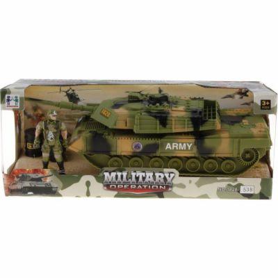 Alltoys Tank vojenský s doplňky cena od 219 Kč