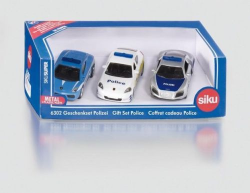 SIKU Super sada 3 policejní auta cena od 334 Kč
