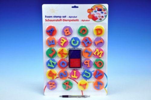 Teddies Razítka abeceda pěna 26 ks cena od 149 Kč