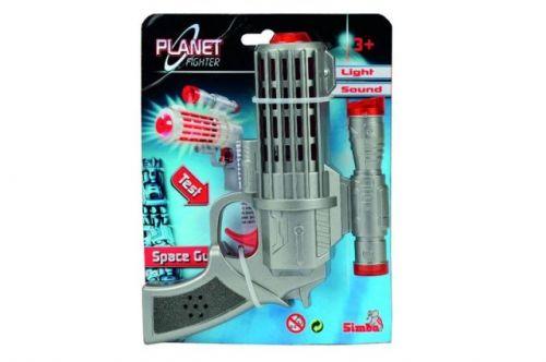 Simba Planet Fighter Laserová pistole cena od 90 Kč