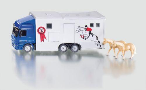 SIKU Super Transporter pro přepravu koní 1:50 cena od 740 Kč