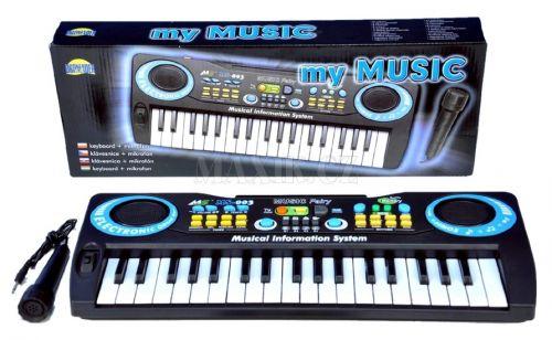 Dromader Piánko 37 kláves s mikrofonem cena od 0 Kč