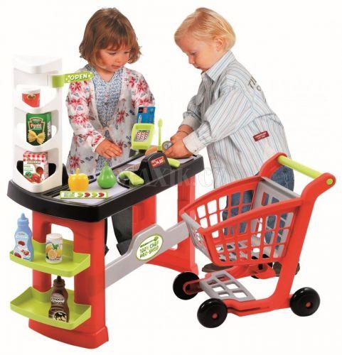 Ecoiffier Supermarket s vozíkem cena od 799 Kč